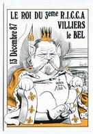 VEYRI - VILLIERS-le-BEL - Salon 1987 - Etienne QUENTIN - Voir Scan - Veyri, Bernard