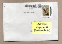 BRD -biberpost - BU - Marke: Zoo Magdeburg - Schwarzschwanz-Präriehund (Cynomys Ludovicianus) - Nager