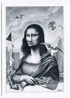VEYRI - Mona-Lisa - La Joconde Jalousée Par Les Inventions De Léonard De VINCI - 1986  - Voir Scan - Veyri, Bernard