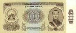 Mongolia 100 Tugrik 1966 Pick 41 UNC - Mongolia