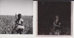NEAR QOUS COTTON PICKERS  EGYPT Celluloid Photo Negative Contact Photographs Negatives Cynthia Ellis Egypte AFRICA - Africa