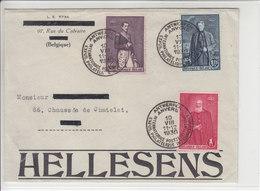 EXPOSITION PHILATELIQUE INTER. ANVERS 1930 - SUPERBE LETTRE - Belgique
