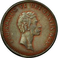 Monnaie, Danemark, Frederik VI, Rigsbankskilling, 1813, Copenhagen, TTB, Cuivre - Danemark