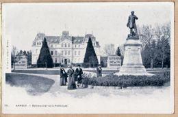 X74148 Editeur F.CABOUD 111 - ANNECY Haute-Savoie Sommeillier Et La Préfecture 1900s - Annecy