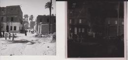 ASHMOUNEIN MINIA CILLAGE SCENES EGYPT Celluloid Photo Negative Contact Photographs Negatives Cynthia Ellis Egypte AFRICA - Africa