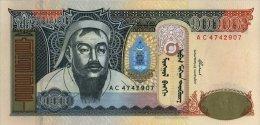 Mongolia 10000 Tugrik 2002 Pick 69 UNC - Mongolia
