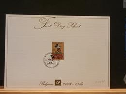 A8392   FIRST DAY SHEET BELGE - Disney