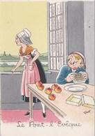 Les Fromages. Le Pont L'Eveque - Agriculture
