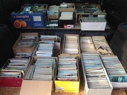 GROS LOT DE  + DE  8000 CPA  -CPM - CPSM  - TYPE DROUILLE ET GRANDE VILLE - Cartes Postales