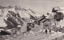 SAINT VERAND - HAUTES - ALPES  - (05) - RARE CPSM DENTELÉE 1958 - BEL AFFRANCHISSEMENT POSTAL - Autres Communes