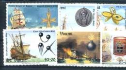 ST VINCENT - 1988 - 400th ANNIVERSARY OF THE ARMADA SET UMM - St.Vincent (1979-...)