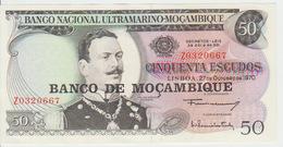 Mozambique 50 Escudos (1976)  Pick 116r UNC Replacement - Mozambique