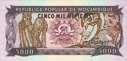 Mozambique 5000 Meticais (1989)  Pick 133 UNC - Mozambique