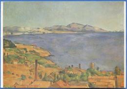 Paul CEZANNE (1839-1906) - Le Golfe De Marseille Vu De L'Estaque 1884-1886 - Peintures & Tableaux
