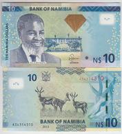 Namibia 10 Dollars 2012 Pick 11b UNC - Namibie