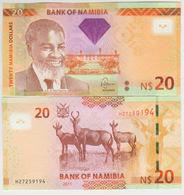 Namibia 20 Dollars 2011 Pick 12 UNC - Namibia