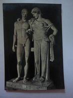 """Cartolina """"NAPOLI -MUSEO NAZIONALE ARCHEOLOGICO - Gruppo Di Elettra Ed Oreste"""" Ediz. Carcavallo, Napoli Anni '50 - Musei"""