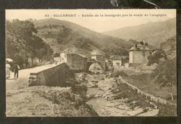 CP-VILLEFORT - Entrée De La Bourgade Par La Route De Langogne - Villefort