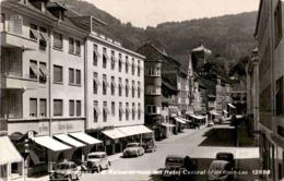 Bregenz Am Bodensee, Kaiserstrasse Mit Hotel Central (12698) * 19. 7. 1956 - Bregenz