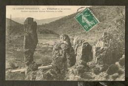 CP-Villefort - Rochers Aux Formes Bizarres Dominant La Vallée - Villefort