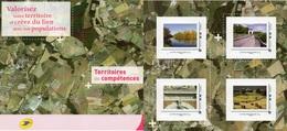 """Document Postal-( 4 Timbres)- """" A Vous De Créez--"""" - France"""