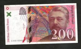 FRANCE - BANQUE De FRANCE - 200 Francs EIFFEL (1996) - 1992-2000 Ultima Gama