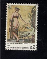 339273215 CYPRUS GESTEMPELD OBLITERE USED GEBRAUCHT YVERT 533 - Chypre (République)
