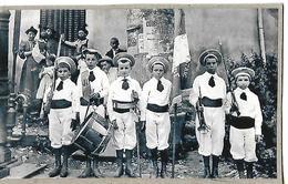 Photo  Originale 13 X 8 Cm / 52 Haute Marne / Chorale / Petits Soldats De DOMMARTIN Le FRANC Et COURSELLES Sur BLAISE - Lieux