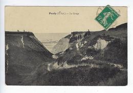 CPA 76 Environs De Dieppe Penly La Gorge - Altri Comuni