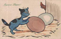 Viennoise - Chat - Poule - Illustrateur FAL - M.M.Vienne N° 357 - 2 Scans - Chats