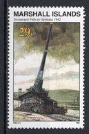 MARSHALL ISLANDS - 1992 History Of The Second World War - German Capture Of Sevastopol, 1942   M567 - Marshall