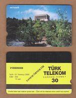 AC - TURK TELECOM PHONECARDS - SAMPLE CARD - ATATURK MAUSOLEUM RARE - Turkey