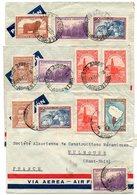 Cond028 3 Enveloppes à Destination De La France Années 40 - Covers & Documents