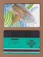 AC - TURK TELECOM PHONECARDS - SAMPLE CARD - FISH DATE : 2000 RARE - Turkey