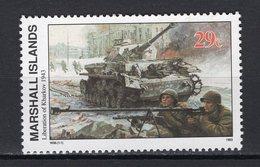 MARSHALL ISLANDS - 1993 History Of The Second World War - Liberation Of Kharkov, 1943   M579 - Marshall