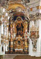 1 AK Germany Bayern .* Abteikanzel Und Chor Der Wieskirche Bei Steingaden - Seit 1983 UNESCO Weltkulturerbe - Germania