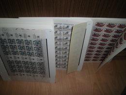 Bogen-Sammlung Tschechoslowakei 1978-1988 Gestempelt 155 Stück CSFR (80097) - Gebraucht