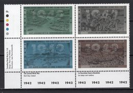 CANADA - 1992 The 50th Anniversary Of Second World War   M582 - 1952-.... Reign Of Elizabeth II