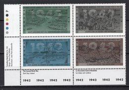 CANADA - 1992 The 50th Anniversary Of Second World War   M582 - 1952-.... Regno Di Elizabeth II