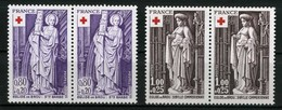 FRANCE   Croix Rouge 1976   Paires    N° Y&T 1910 Et 1911  ** - Nuevos