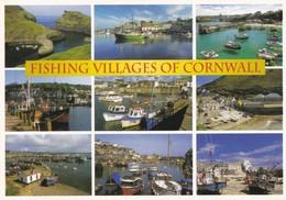 Postcard Fishing Villages Of Cornwall [ John Hinde ] My Ref  B23276 - England