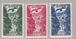 ANDORRE FRANCAIS :  PA 2 à 4  Neuf XX   Cote 200 € - Poste Aérienne