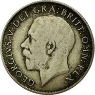 Monnaie, Grande-Bretagne, George V, Shilling, 1921, TB, Argent, KM:816a - 1902-1971 : Monnaies Post-Victoriennes