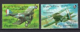 GAMBIA - 1993 75TH ANNIVERSARY  ROYAL AIR FORCE  M591 - Gambia (1965-...)