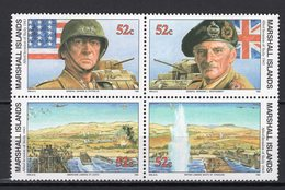 MARSHALL ISLANDS - 1993 History Of The Second World War - Allied Invasion Of Sicily, 1943  M595 - Marshall