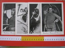 CA1 ITALIA 1960 1970 TERNI SERIE 4 CARTOLINE CARABINIERI PIONIERI AVIAZIONE AIR AEREO ESERCITO DIVISA AEREOPLANO - Aviatori