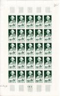 Feuille 25 Timbres  Choiseul -année 1949  YetT 828 Cote 32,50 Euros - Feuilles Complètes