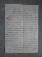 Rance 1921. Acte - Manuscrits