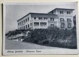 CHIANCIANO TERME - ALBERGO GARIBALDI- VIAGGIATA FG - Siena