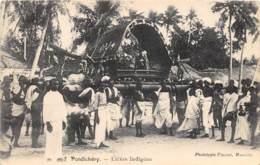 Inde Française - Divers / 9 - Pondichéry - Litière Indigène - India